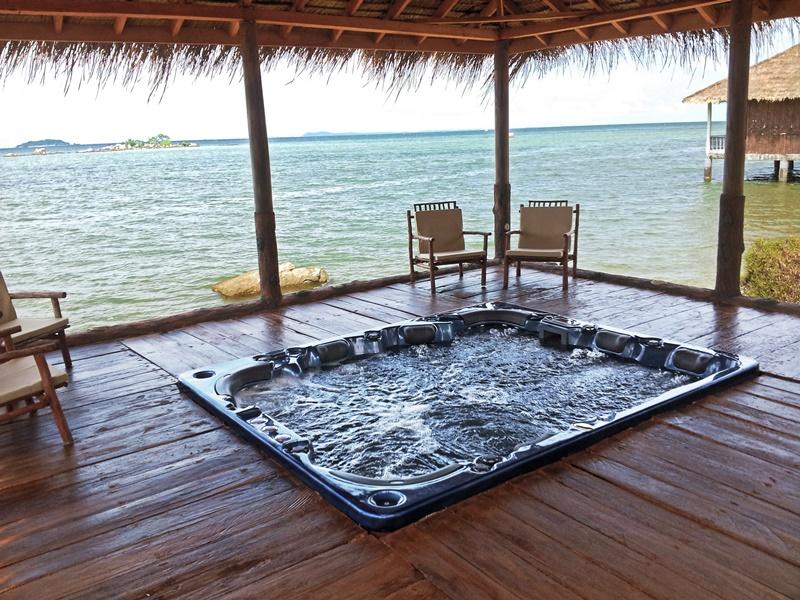 vantagens de ter jacuzzi, banho turco e sauna num hotel