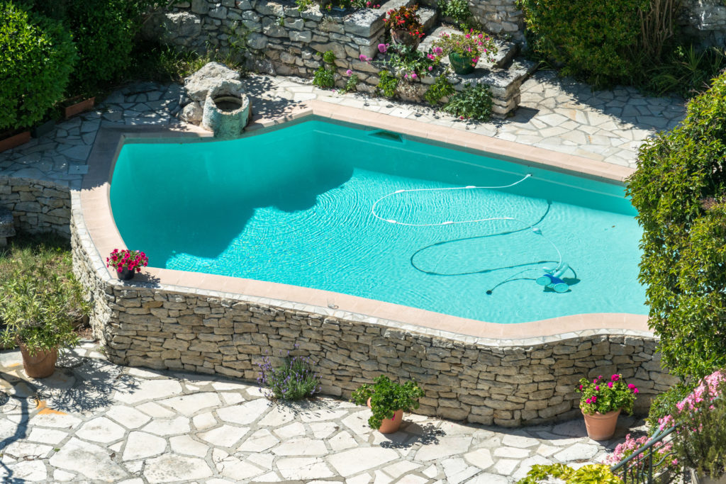 Aspirador de piscina