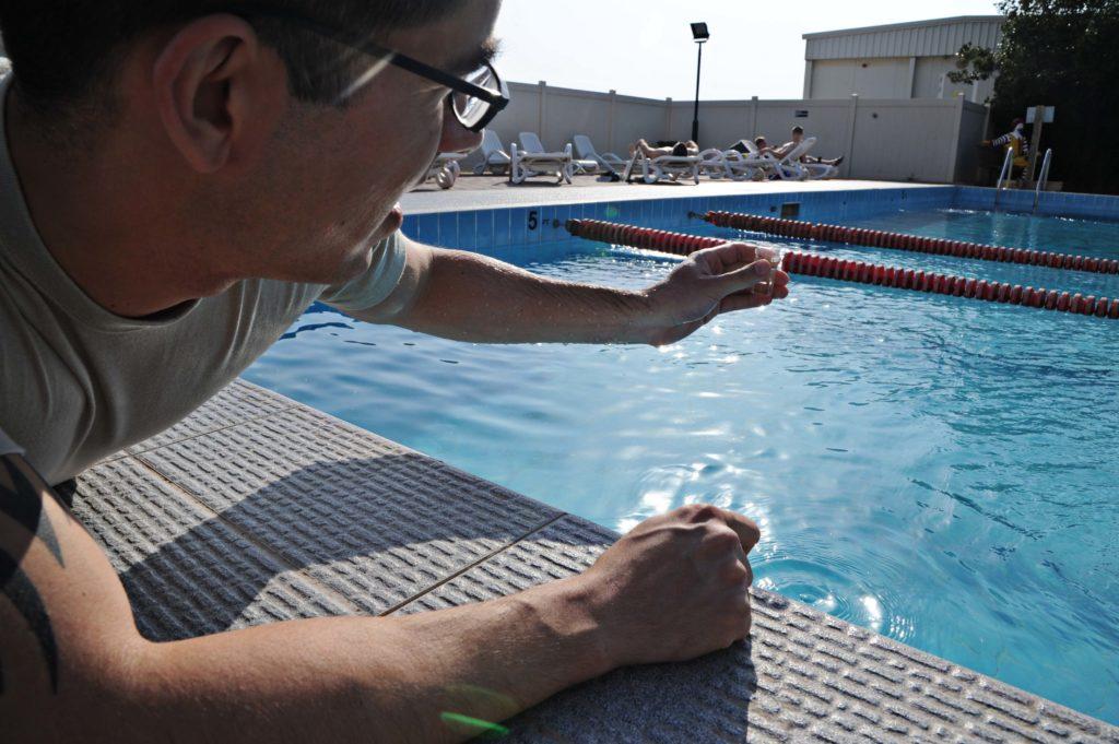 Manutenção de piscinas - pH