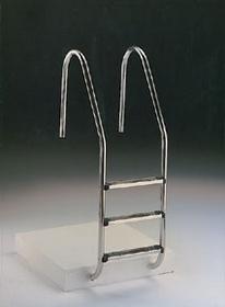 Escadas para pisicnas com 2 degraus + 1 de segurança