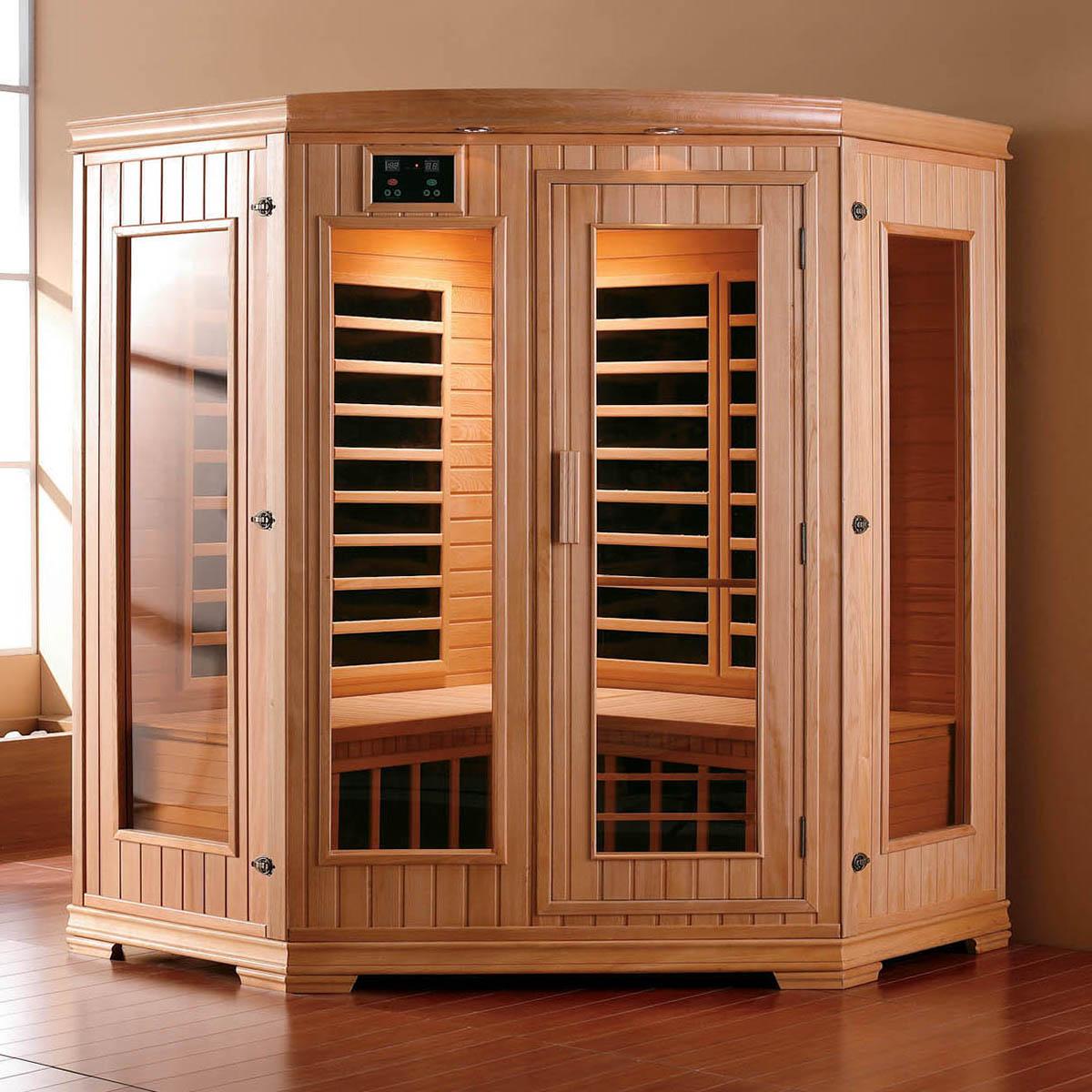 Sauna Natura para 3 pessoas